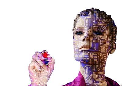 Sind Roboter die Zukunft? Bild oben