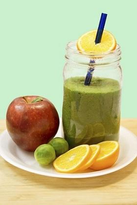 Gesund und fit durch Mixgetränke Anleitung Bild mittig-oben