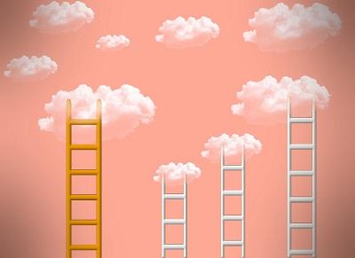 Tipps, wie Sie im Beruf weiterkommen Bild oben