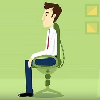 Der ergonomische Arbeitsplatz Erfahrung Bild unten