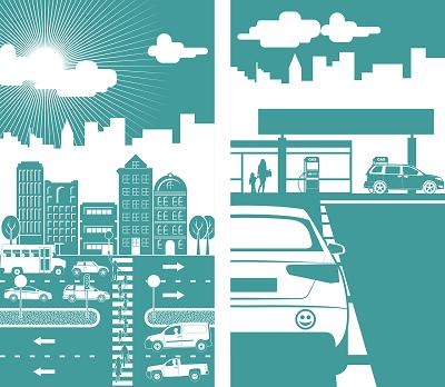 Mobilität in der (Groß)Stadt Bild oben enodeer, pixabay.com