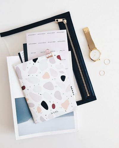 Ein individuelles Notizbuch als ideales Kundengeschenk Anleitung Bild mittig-oben