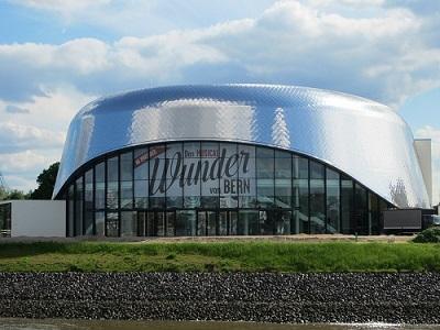 Urlaub in Hamburg Anleitung Bild mittig-oben Abbildung 2: Für das Wunder von Bern wurde ein neues Musicalgebäude gebaut - pixabay.com © Team-rag CC0 1.0