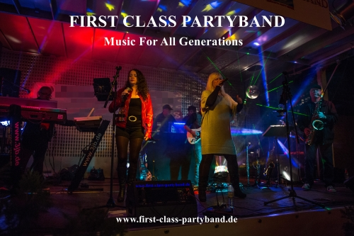 FIRST CLASS PARTYBAND Top Livemusik