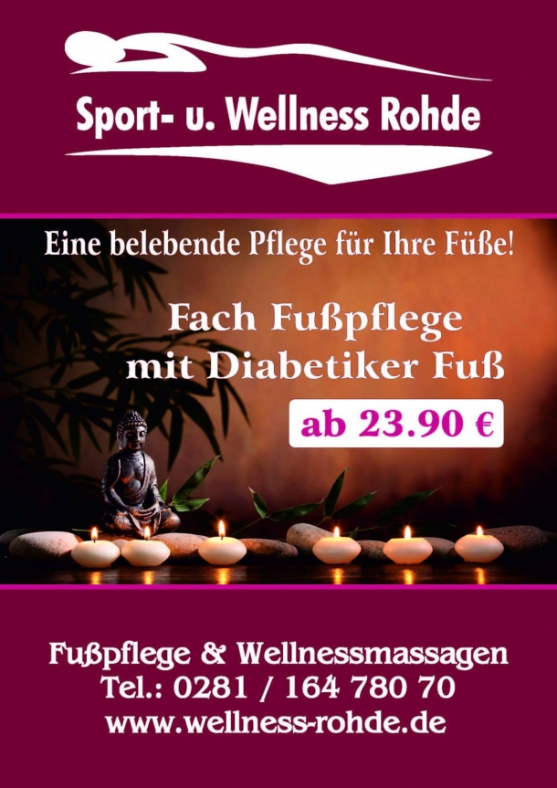 Kosmetik-Wellness-Massagen Wesel - Blumenkamp