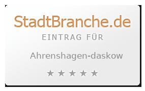 Ahrenshagen-Daskow Landkreis Nordvorpommern Mecklenburg-Vorpommern
