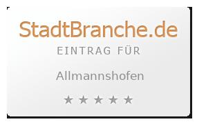 Allmannshofen Landkreis Augsburg Bayern