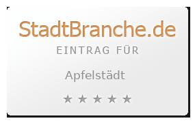 Apfelstädt Landkreis Gotha Thüringen
