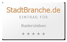 Badersleben Landkreis Halberstadt Sachsen-Anhalt