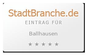 Ballhausen Unstrut-Hainich-Kreis Thüringen