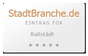 Ballstädt Landkreis Gotha Thüringen