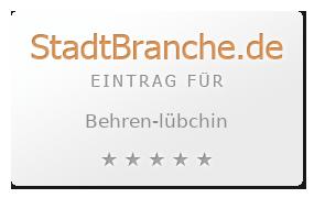 Behren-Lübchin Landkreis Güstrow Mecklenburg-Vorpommern