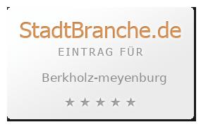Berkholz-Meyenburg Landkreis Uckermark Brandenburg