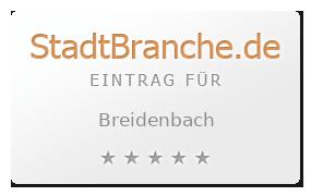 Breidenbach Landkreis Marburg-Biedenkopf Hessen