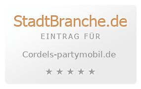 Cordel S Partymobil Fischer S Dienstleistungs Gbr Verleih Northeim