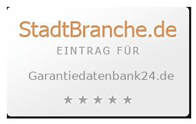 Garantie Datenbank 24 Gmbh Garantie Garantie Bad Schwalbach
