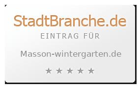 Masson Wintergarten wintergarten terrassenüberdachung masson wintergarten groß