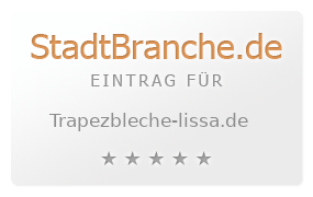 Extrem Trapezblech Gonschior oHG › Trapezbleche Delitzsch BZ66