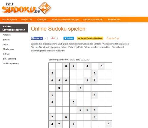 123sudoku De Sudoku Ortenburg
