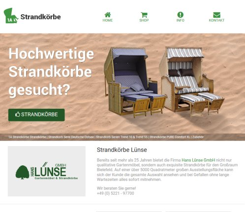 g nstige strandk rbe kaufen strandkorb herford. Black Bedroom Furniture Sets. Home Design Ideas