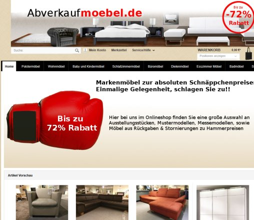 Abverkaufmoebelde Maxi Möbel Gmbh Polstergarnitur Bengel