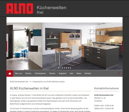 einbauk chen von alno wellmann k chen kiel. Black Bedroom Furniture Sets. Home Design Ideas