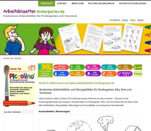 www.arbeitsblaetter kindergarten.de Kostenlose › Arbeitsblätter Rheinau