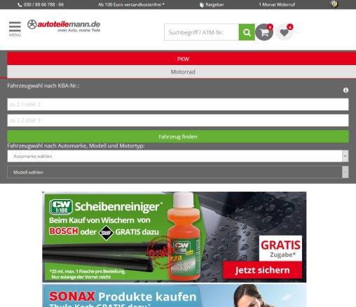 Autozubehör Shop Online