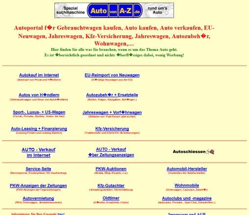 Autoportal Gebrauchtwagen Neuwagen Automarkt Autokauf Auto