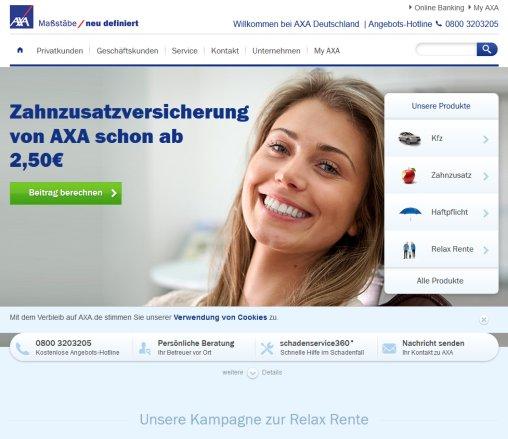 die versicherungen von axa versicherung