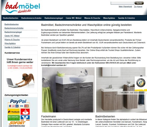 badm bel online shop bavaria m bel badm bel wernberg k blitz. Black Bedroom Furniture Sets. Home Design Ideas