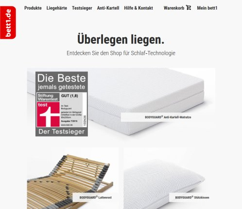Bett1 De Die Fachberater Wochen Hamburg