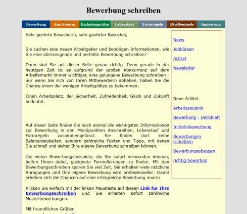 Bewerbung Schreiben › Bewerbung Rostock