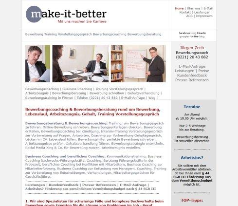 Bewerbung Training Vorstellungsgespräch Bewerbungscoaching