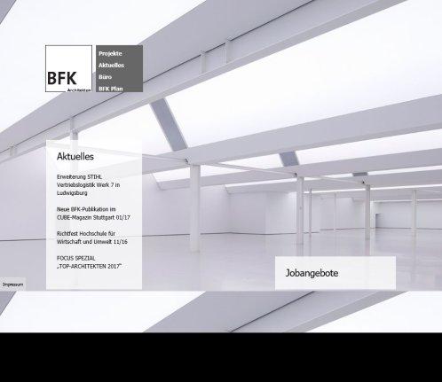 Bfk partner bfk stuttgart - Bfk architekten ...