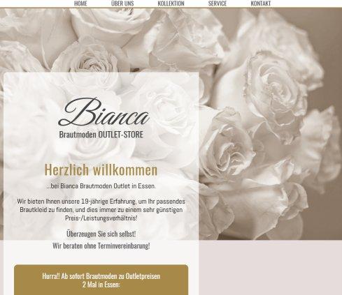 Bianca Brautmoden Outlet Store Brautmoden Essen