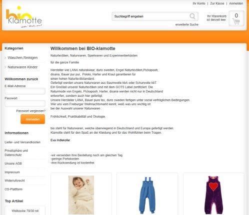 the best attitude 62fde 4ea12 bio Klamotte.de :: biologische Kleidung › Versandkosten ...