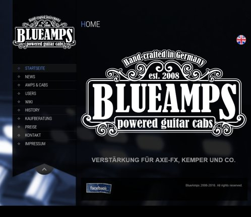 BlueAmps | amps  cabs for modelers  Öffnungszeit