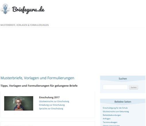 Musterbriefe Vorlagen Formulierungen Glückwünsche Berlin