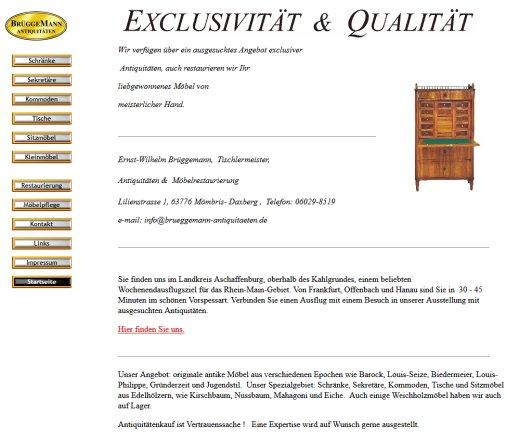Antiquitäten Brüggemann antike Möbel › Antiquitäten Mömbris