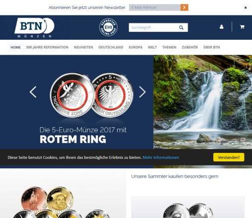 Btn Münzen Online Münzen Meine