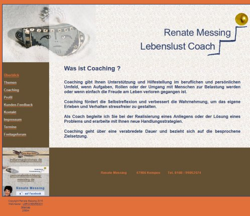 Renate Messing Businesscoaching  Öffnungszeit