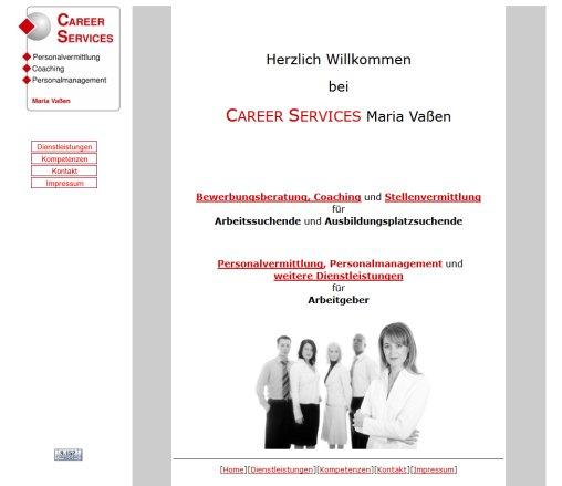 Career Services Maria Vaßen Personalvermittlung