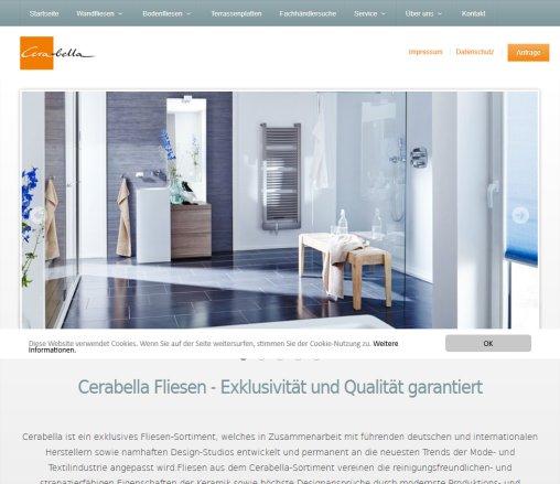 Startseite EUROBAUSTOFF Handelsgesellschaft MbH Cerabella Karlsruhe - Cerabella fliesen