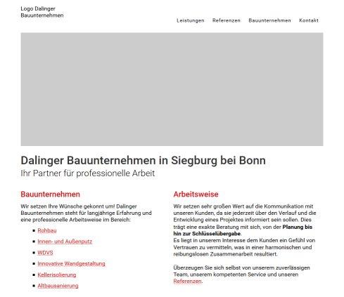 Bauunternehmen Bonn dalinger bauunternehmen siegburg bei bonn bauunternehmen siegburg