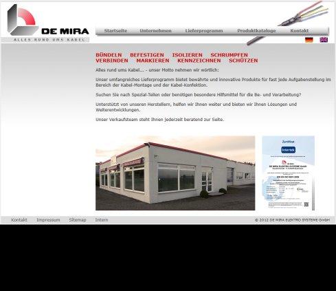 DE MIRA ELEKTRO SYSTEME GmbH › Kabelschutz Euskirchen