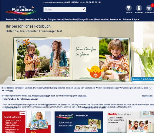 Dm Fotoservice Fotos Online Fotobuch Karlsruhe