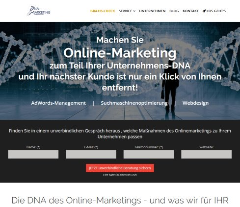 DNA-Marketing | Tobias Baumann Öffnungszeit