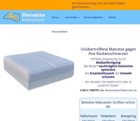 Dormito Wasserbetten Gmbh Betten Oberhausen