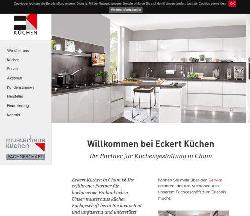 Musterhaus küchen fachgeschäft werbung  Eckert Küchen Eckert › Eckert Cham